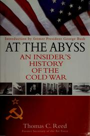 Cover of: At the abyss by Reed, Thomas C.