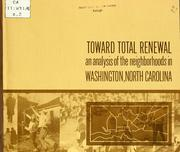 Cover of: Toward total renewal by Ruth L. Mace