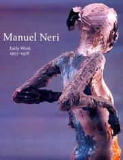 Cover of: Manuel Neri by Jack Cowart