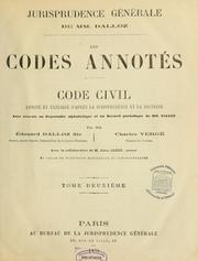 Cover of: Code civil by France