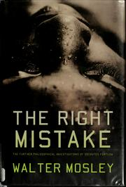 Cover of: The right mistake by Walter Mosley