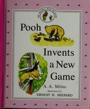 Cover of: Pooh invents a new game by A. A. Milne