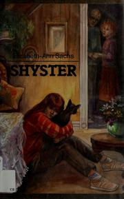Cover of: Shyster by Elizabeth-Ann Sachs