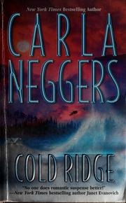 Cover of: Cold ridge by Carla Neggers