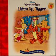 Cover of: Listen up, Tigger by Sheryl Berk