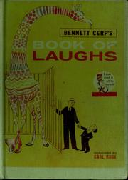 Cover of: Book of laughs by Bennett Cerf