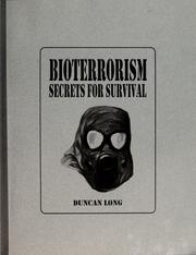 Cover of: Bioterrorism by Duncan Long