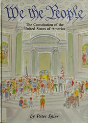 Cover of: We the people by Peter Spier