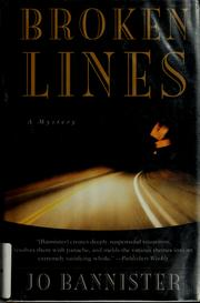 Cover of: Broken lines by Jo Bannister