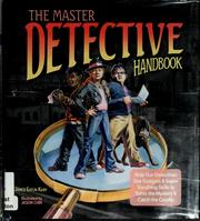 Cover of: The master detective handbook by Janice Eaton Kilby