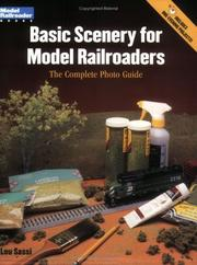 Cover of: Basic scenery for model railroaders by Lou Sassi