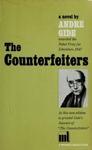 Cover of: The counterfeiters by André Gide