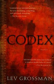 Cover of: Codex by Lev Grossman