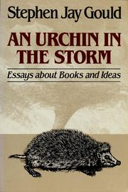 Cover of: An urchin in the storm by Stephen Jay Gould