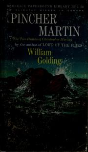 Cover of: Pincher Martin by William Golding