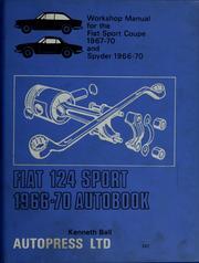 Fiat 124 Sport 1966-70 Autobook Autopress LTD