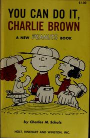 Cover of: You can do it, Charlie Brown by Charles M. Schulz