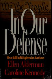 Cover of: In our defense by Ellen Alderman