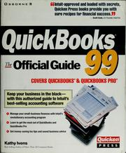 Cover of: QuickBooks 99 by Kathy Ivens