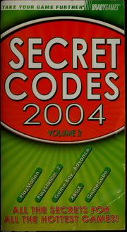 Cover of: Secret codes 2004 by 