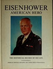Cover of: Eisenhower, American hero by Kenneth S. Davis