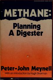 Cover of: Methane by Peter-John Meynell