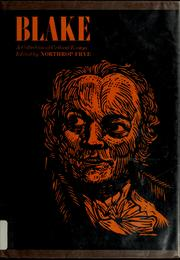 Cover of: Blake by Northrop Frye