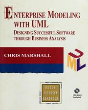 Cover of: Enterprise modeling with UML by Chris Marshall