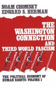 Cover of: The Washington connection and Third World fascism by Noam Chomsky