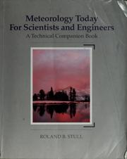Cover of: Meteorology today for scientists and engineers by Roland B. Stull