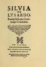 Cover of: Silvia de Lysardo by Bernardo de Brito