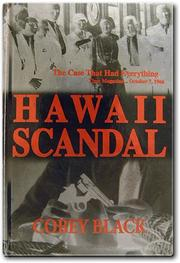 Cover of: Hawaii scandal by Cobey Black