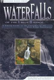 Cover of: Waterfalls of the Blue Ridge by Nicole Blouin
