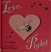 Cover of: Love, Piglet by A. A. Milne