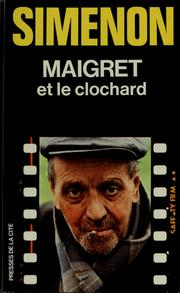Cover of: Maigret et le clochard by Georges Simenon
