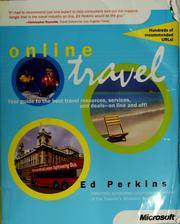 Cover of: Online travel by Ed Perkins