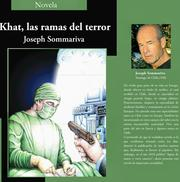 Cover of: Khat, las ramas del terror by Joseph Sommariva