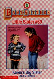Cover of: Karen's big sister by Ann M. Martin