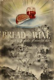 Cover of: Bread and wine by Ignazio Silone
