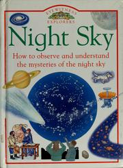 Cover of: Night sky by Carole Stott