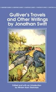 Cover of: Gulliver's travels by Jonathan Swift