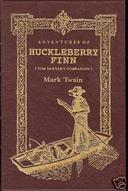 Cover of: Adventures of Huckleberry Finn by Mark Twain