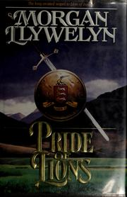 Cover of: Pride of lions by Morgan Llywelyn