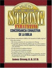Cover of: New exhaustive concordance of the Bible by Strong, James