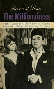 Cover of: The millionairess by George Bernard Shaw