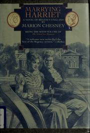 Cover of: Marrying Harriet by Marion Chesney