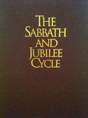 Cover of: The Sabbath and Jubilee Cycle by R. Clover