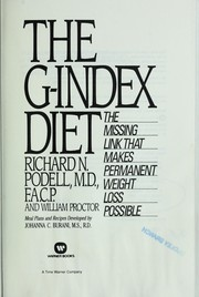Cover of: The G-index diet by Richard N. Podell