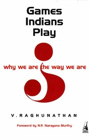 Cover of: Games Indians play by V. Raghunathan