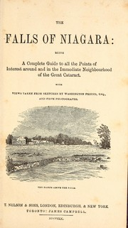 Cover of: The falls of Niagara by Washington F. Friend